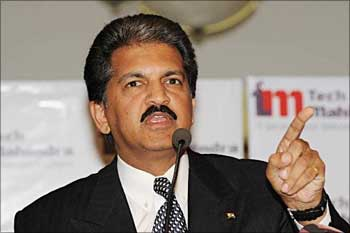 Anand Mahindra, chairman, Tech Mahindra.