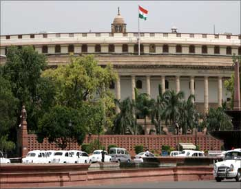 The parliament house in N